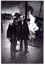 DON McCULLIN Duotone BRICK LANE 1980 Fire Among Friends - $16.99