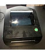 Black Zebra LP2844 Ethernet Network Label Printer Direct Thermal Tech Su... - $188.09