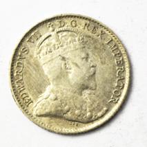 1907Canada 5c Five Cents Silver Coin Half Dime KM# 13 - $19.79