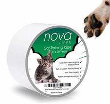 Nova-Fiber Scratch Deterrent Cat Training Tape, 3 inch x 30 Yards, Stop ... - $17.50