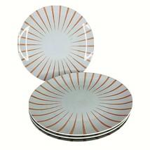 4 Seltmann Weiden Stripe Kaleidoscope Dinner Plates West Germany Muriel ... - $39.55