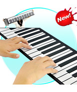 Flexible Roll Up Synthesizer Keyboard Piano with Soft Keys - $79.28