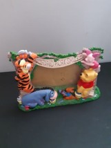 Disney Winnie The Pooh Hundred Acre Woods Photo Picture Frame Eeyore Tigger Roo - $9.85