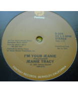 JEANIE TRACY - I'm Your Jeanie / AZYMUTH May I Have This Dance -  PROMO ... - $36.00