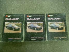 1999 Mitsubishi Galant Service Shop Repair Manual Set Factory Oem 99 2nd Edition - $63.36