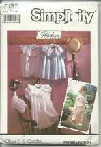 Simplicity Sewing Pattern 7135 Girls Dress Size 1 2 3 4 New Uncut - $9.98