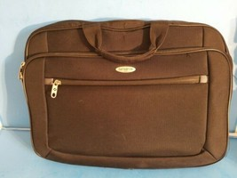 "Samsonite 1910 Suitcase Laptop Carryon 18"" Luggage Black Notebook Canvas... - $18.69"