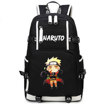 Naruto Theme Fighting Anime Series Backpack Schoolbag Daypack Hokage Naruto - $38.99
