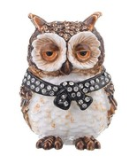 Owl trinket box hand made by Keren Kopal with Austrian crystals Faberge - €47,03 EUR