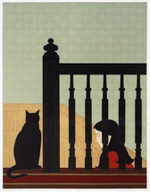 "Will Barnet ""The Bannister"" 1981 - S/N Lithograph - Retail $5.5K - COA -... - $3,500.00"