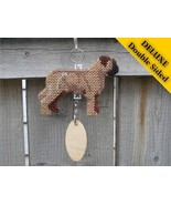 Bullmastiff Deluxe crate tag double sided, hang... - $24.00