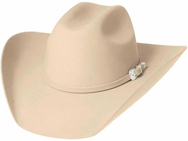 Bullhide Legacy 8X Beaver Fur Blend Cowboy Hat Black Brown Silver Belly Buckskin - £80.86 GBP
