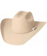 Bullhide Legacy 8X Beaver Fur Blend Cowboy Hat Black Brown White Silver ... - $87.00