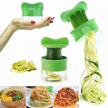 Spiral Vegetable Fruit Slicer Cutter Grater Twister Peeler Kitchen Gadge... - $5.38