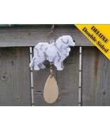 Great Pyrenees Deluxe crate tag 2 sided, hang a... - $30.00