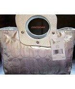 Kate Spade Melrose Noel Silver Handbag Purse Tote NWT  - $100.00