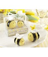 Mommy and Me...Sweet as Can Bee Ceramic Honeybee Salt & Pepper Shakers, ... - $272.10