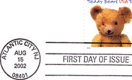 TEDDY BEARS First Day Issue - $2.95