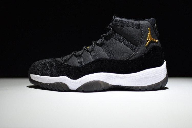 Women Nike Air Jordan 11 Black Velvet and 50 similar items
