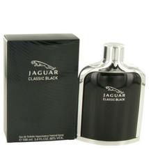 Jaguar Classic Black by Jaguar Eau De Toilette Spray 3.4 oz for Men - $24.60