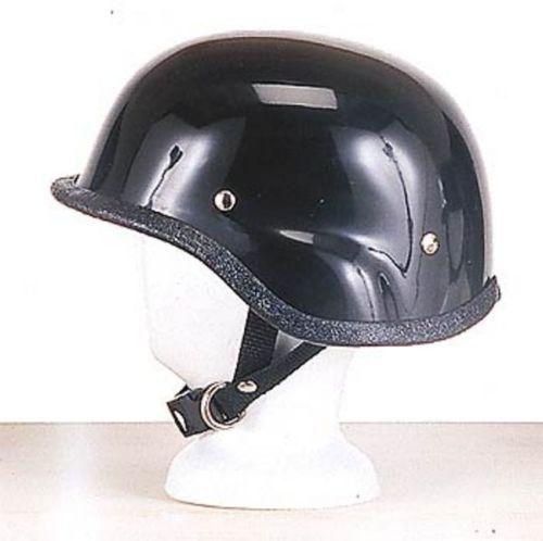 Men's Black Half Face Motorcycle Helmet Turtle usa bikers