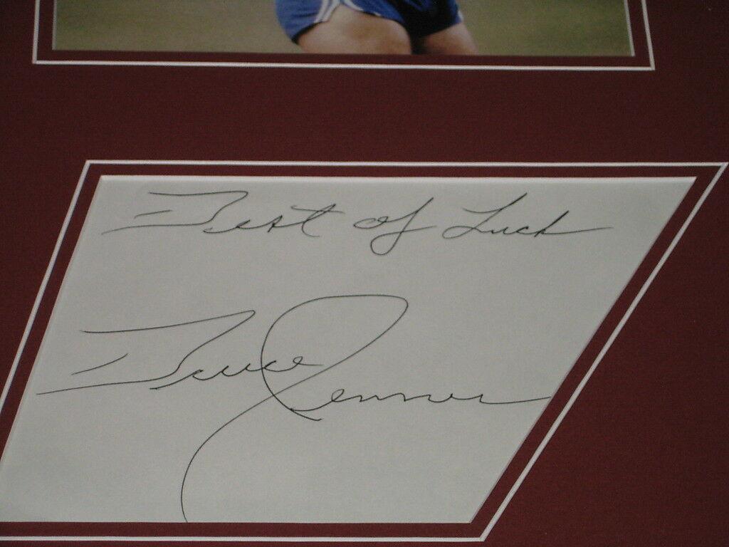 Bruce Jenner Signed Framed 16x20 Photo Display JSA 1976 Olympics image 2