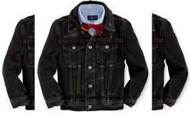 Ralph Lauren Boys Distress Rigid Denim Trucker Jacket Conway Wash M $95 - $49.49