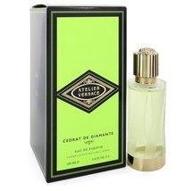 Versace Cedrat De Diamante Perfume 3.4 Oz Eau De Parfum Spray image 1