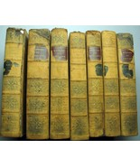 The History Of England Leather Bound 7 Volumes From Accession of James I... - $74.01