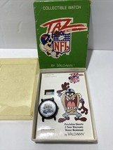 Vintage 1994 Taz Pittsburgh Steelers Watch~Valdawn~Pittsburgh~Steelers~Jewelry - $22.77