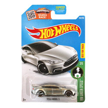NEW Hot Wheels 1:64 Die Cast Car HW Green Speed Series Dk Grey TESLA MOD... - €12,79 EUR