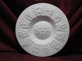 pyop Vintage Zodiac Ashtray Astrology Ready to Paint U Paint Ceramic Bisque - $19.99