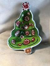 BOSTON WAREHOUSE Dip Bowl & Spreader Set ~ Candy Christmas Tree & Spreader - $15.00