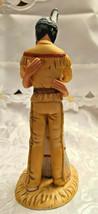 The Lovers Figurine Gregory Perillo Native American Hugging Couple 1985 #2587 image 2