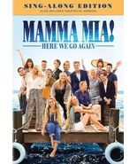 Mamma Mia - Here We Go Again (DVD, 2018, Sing-Along Edition) - $14.95