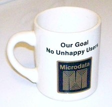 Microdata Computer Systems Vintage 1970's Advertising Coffee Mug Collect... - $17.61