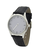 Slow Time Watch - Unisex Watch - Men Watch, Women Watch - Free shipping - $39.00