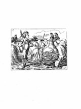 Alice In Wonderland Giclee Print From Sir John Tenniel- '...stand on you... - $12.74