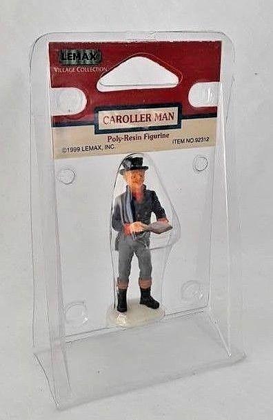 Christmas Carol Singers Figurines.Lemax Figurine Caroller Man Singer Christmas And 50 Similar