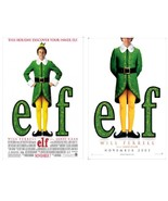 2 2003 ELF Christmas Movie Posters 11x17 Will Ferrell NEW/OLD STOCK - $13.99
