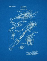 Illuminated Bait Patent Print - Blueprint - $7.95+