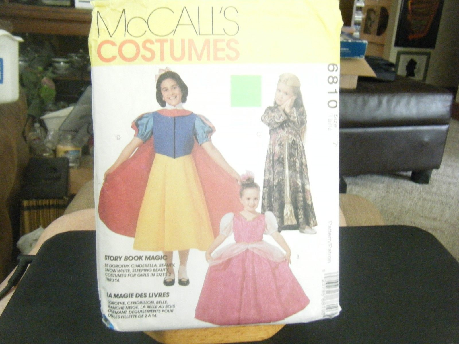McCalls 6810 Girl's Cinderella Snow White and 50 similar items