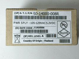 Symbol LS2208 Barcode Scanner replacement power supply 50-14000-008R New - $14.85