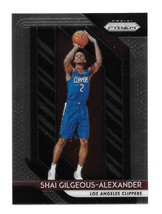2018-19 Panini Prizm Shai Gilgeous Alexander Rookie Card #184 - $59.40