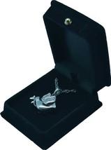 "Peace Dove Pendant w/20"" chain & black velvet display box - $149.99"