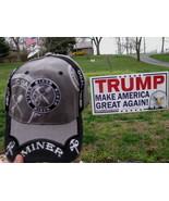 Hat trucker adjustable Ball Cap Embroidered COAL MINER Grey Color - $9.98