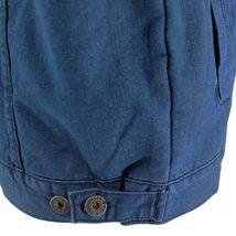 Gary Pallan USA Men's Sherpa Fleece Lined Cotton Denim Jean Trucker Vest image 3