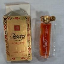 Givenchy Organza Eau De Parfum Mini Perfume.17oz  5ml New In Box Vintage - $18.69