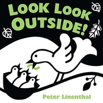 Look Look Outside [Board book] Linenthal, Peter - $4.90