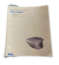 Dell Printer A 940 Owners Manual - $9.20